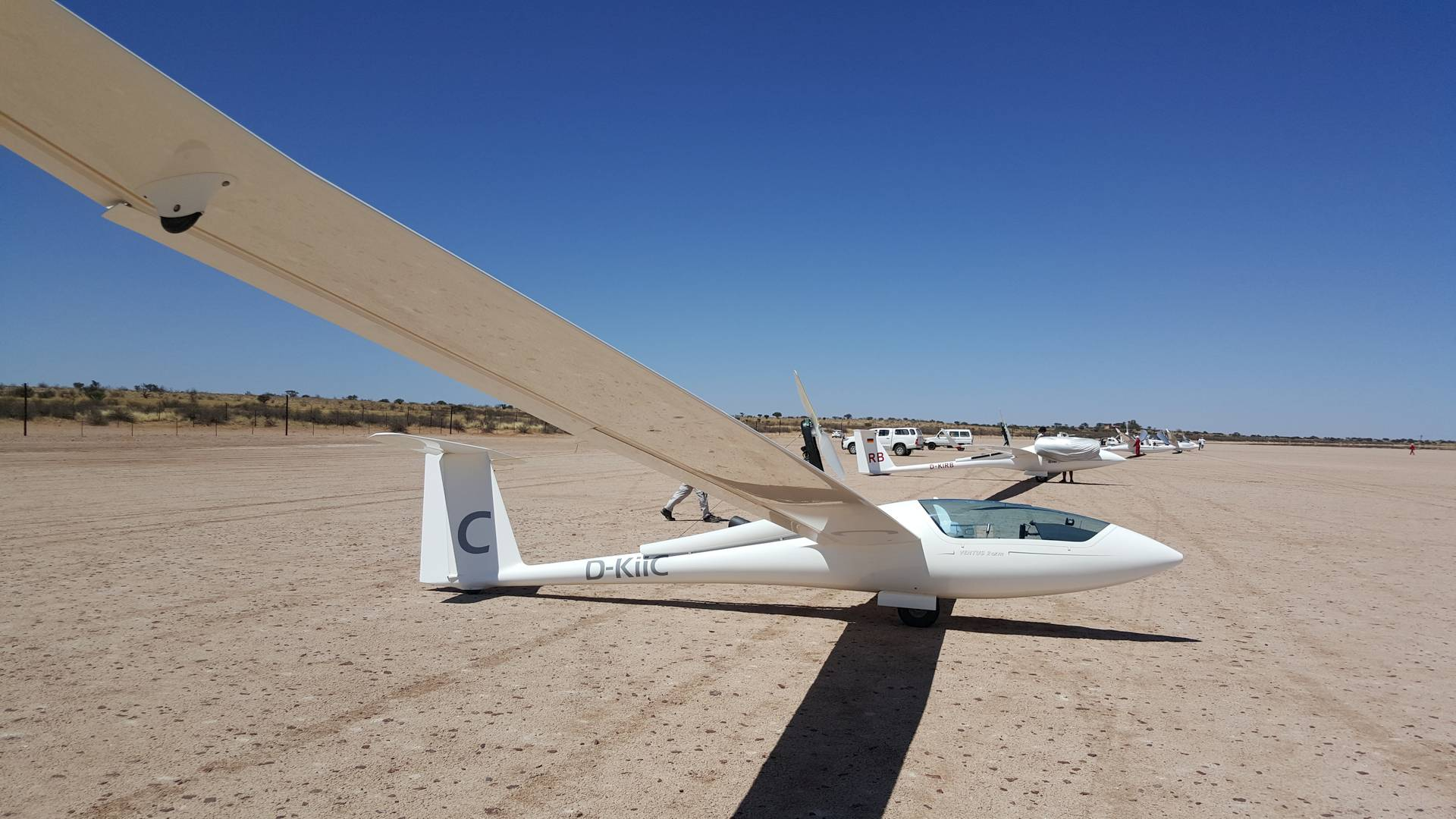 """My glider for the next day: Ventus 2cxm """"C"""""""